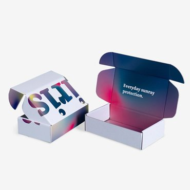 Colorful Printed Mailer Box
