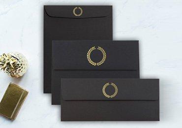 Foil Stamped Envelopes