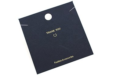 Hot Stamping Packaging Card