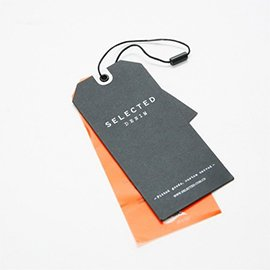 Jeans hang tags