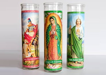Prayer Candle Label