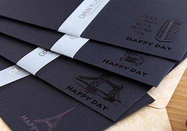 Spot UV Envelope