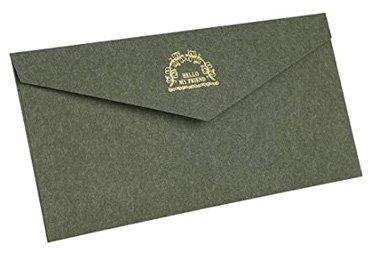 Textured Paper Envelope