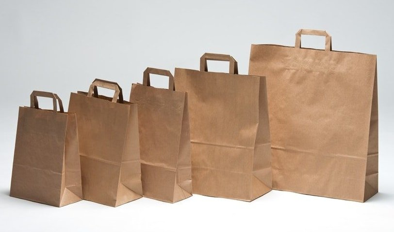 Sizes of Paper Bags