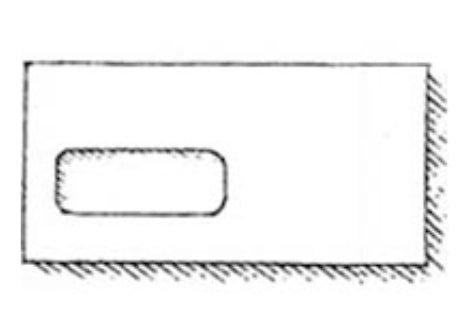Envelope with window
