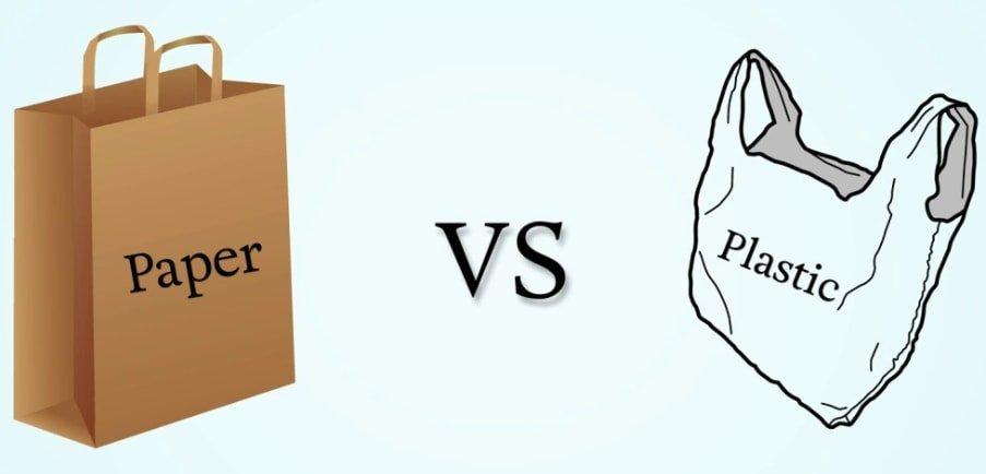 Paper Bags vs. plastic bags