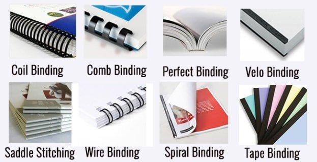 Binding Booklet