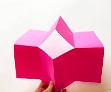 one piece folding booklet