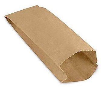Pinch-bottom paper bag