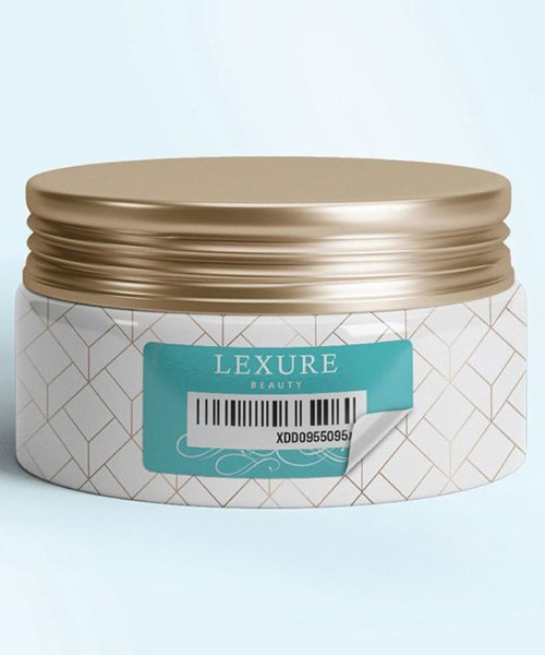 barcode on beauty label