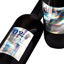 Holographic Drink Labels