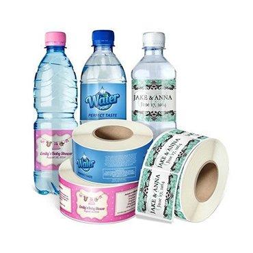 PVC Drink Labels