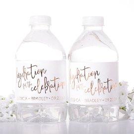 Water Bottle Label,,