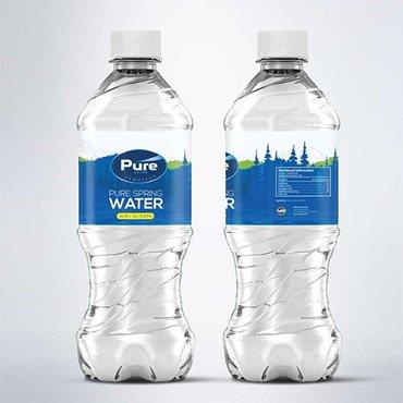 Waterproof Water Bottle Label
