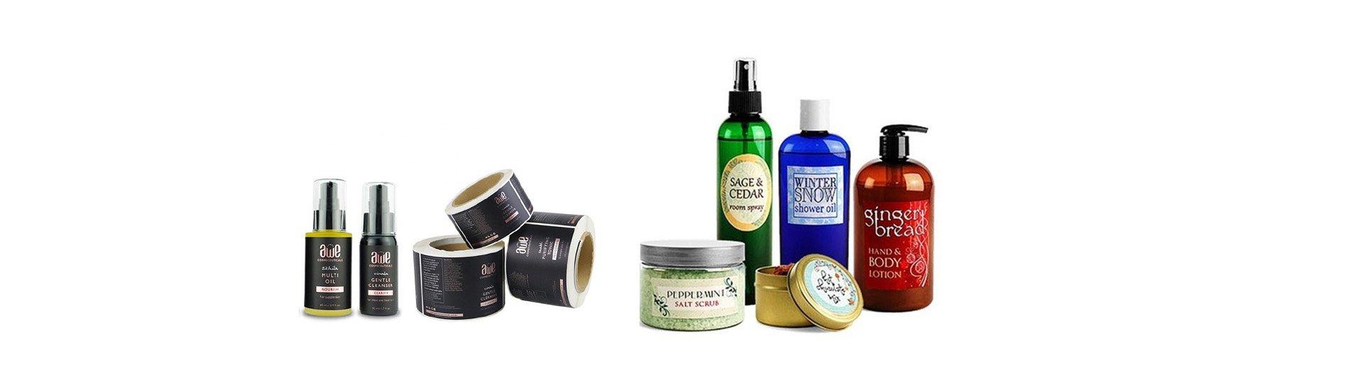 beauty labels supplier