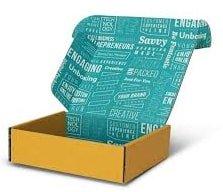 inside print of mailer box