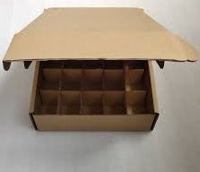Mailer Box with Dividers