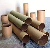 cutting of paper tubes