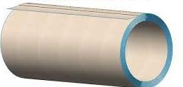 Parallel wound or convolute paper tube packaging