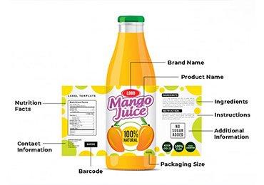 drink labels