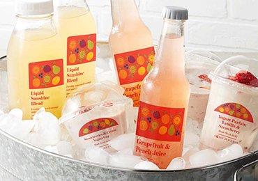 waterproof drink labels