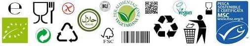 symbols on food packaging