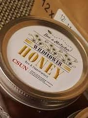 honey label on caps