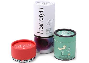 Cosmetic Paper Tube Packaging