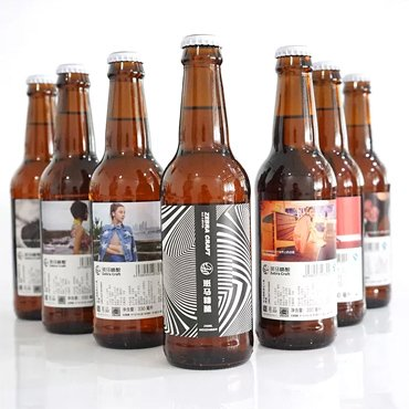 Matte Drink Labels